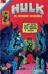 Cover for Hulk el Hombre Increíble (Editorial Novaro, 1979 series) #29