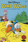 Cover for Donald Duck & Co (Hjemmet / Egmont, 1948 series) #33/1981