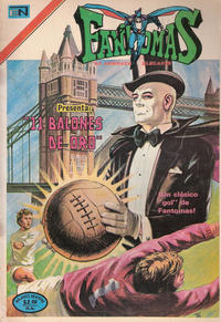 Cover Thumbnail for Fantomas (Editorial Novaro, 1969 series) #174