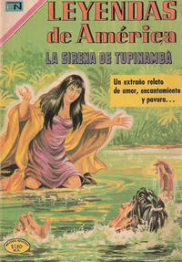 Cover Thumbnail for Leyendas de América (Editorial Novaro, 1956 series) #166
