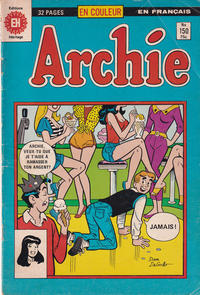 Cover Thumbnail for Archie (Editions Héritage, 1971 series) #150
