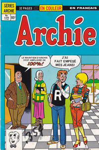 Cover Thumbnail for Archie (Editions Héritage, 1971 series) #172