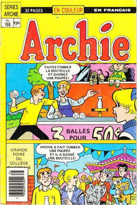 Cover Thumbnail for Archie (Editions Héritage, 1971 series) #186