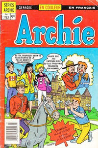 Cover Thumbnail for Archie (Editions Héritage, 1971 series) #193