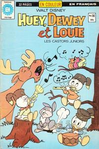 Cover Thumbnail for Huey, Dewey et Louie - Les Castors Juniors (Editions Héritage, 1980 series) #14