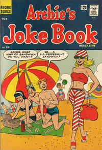 Cover Thumbnail for Archie's Joke Book Magazine (Archie, 1953 series) #93