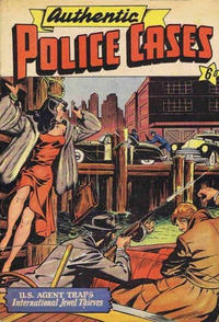 Cover Thumbnail for Authentic Police Cases (Locker, 1949 series)