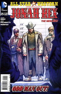 Cover Thumbnail for All Star Western (DC, 2011 series) #25