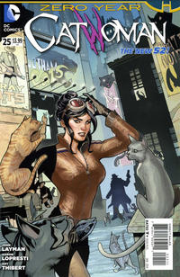 Cover Thumbnail for Catwoman (DC, 2011 series) #25 [Direct Sales]