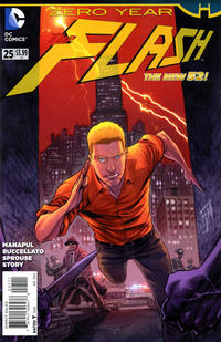 Cover Thumbnail for The Flash (DC, 2011 series) #25