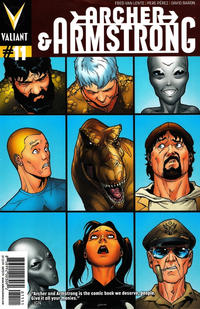Cover Thumbnail for Archer and Armstrong (Valiant Entertainment, 2012 series) #11 [Cover A - Pere Pérez]