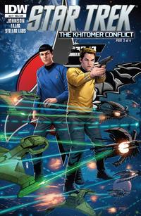 Cover Thumbnail for Star Trek (IDW, 2011 series) #27 [Regular Cover]