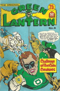Cover Thumbnail for The Original Green Lantern (K. G. Murray, 1974 series) #6