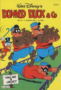 Cover Thumbnail for Donald Duck & Co (Hjemmet / Egmont, 1948 series) #32/1981