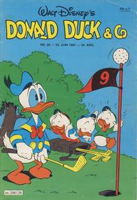Cover Thumbnail for Donald Duck & Co (Hjemmet / Egmont, 1948 series) #26/1981