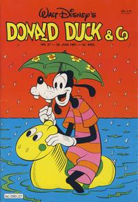 Cover Thumbnail for Donald Duck & Co (Hjemmet / Egmont, 1948 series) #27/1981