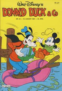 Cover Thumbnail for Donald Duck & Co (Hjemmet / Egmont, 1948 series) #34/1981