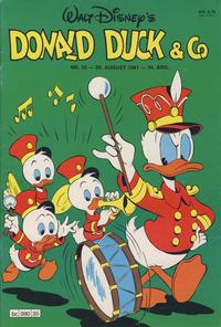 Cover Thumbnail for Donald Duck & Co (Hjemmet / Egmont, 1948 series) #35/1981