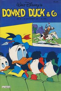 Cover Thumbnail for Donald Duck & Co (Hjemmet / Egmont, 1948 series) #39/1981