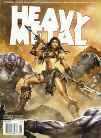 Cover Thumbnail for Heavy Metal Magazine (Heavy Metal, 1977 series) #265