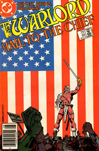 Cover for Warlord (DC, 1976 series) #84 [direct-sales]