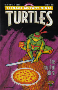 Cover Thumbnail for Teenage Mutant Ninja Turtles: The Haunted Pizza (Mirage, 1992 series)