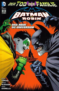 Cover Thumbnail for Batman & Robin (Panini Deutschland, 2012 series) #3 - Jokers Todesspiel