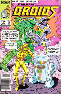 Cover Thumbnail for Droids (Marvel, 1986 series) #1 [Newsstand]