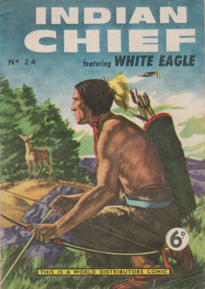 Cover for Indian Chief (World Distributors, 1953 series) #24