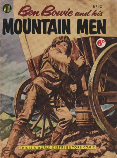 Cover for Ben Bowie and His Mountain Men (World Distributors, 1955 series) #10