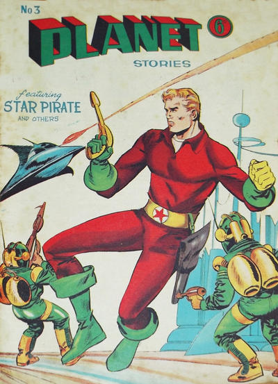 Cover for Planet Stories (Atlas Publishing, 1961 series) #3