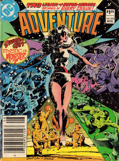 Cover for Adventure Comics (DC, 1938 series) #502 [Direct]