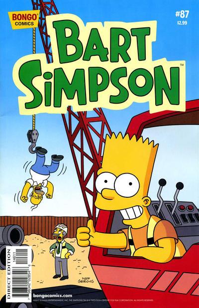 Cover for Simpsons Comics Presents Bart Simpson (Bongo, 2000 series) #87
