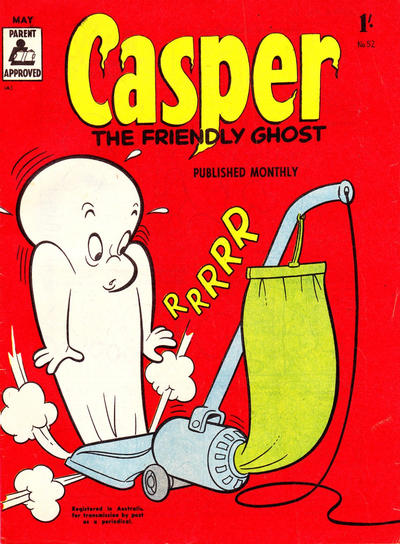 Cover for Casper the Friendly Ghost (Associated Newspapers, 1955 series) #52