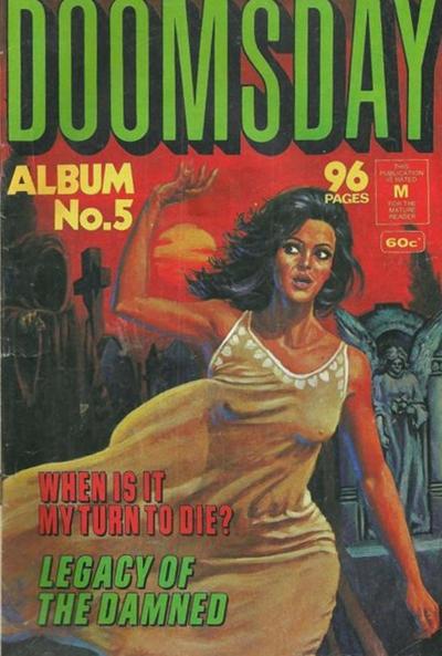 Cover for Doomsday Album (K. G. Murray, 1977 series) #5