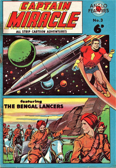 Cover for Captain Miracle (Mick Anglo Ltd., 1960 series) #3