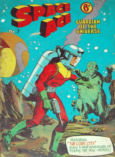 Cover for Space Ace (Atlas Publishing, 1960 series) #7
