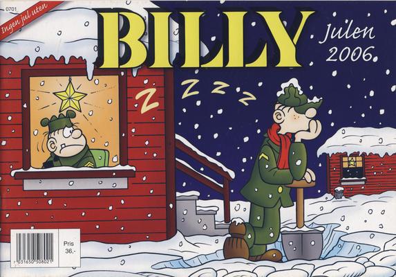 Cover for Billy julehefte (Hjemmet / Egmont, 1970 series) #2006 [Bokhandelutgave]