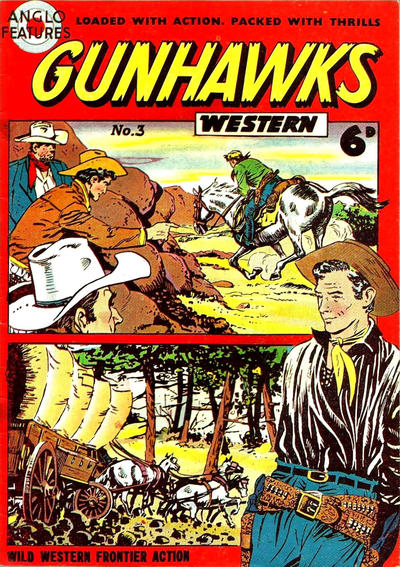 Cover for Gunhawks Western (Mick Anglo Ltd., 1960 series) #3