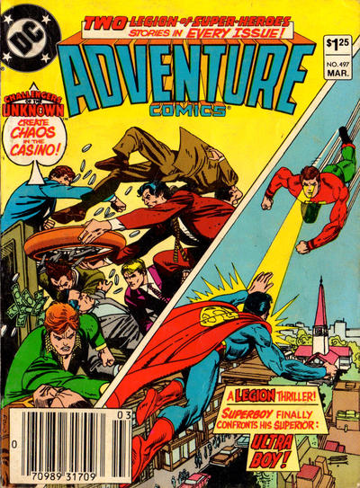 Cover for Adventure Comics (DC, 1938 series) #497 [Direct-Sales]
