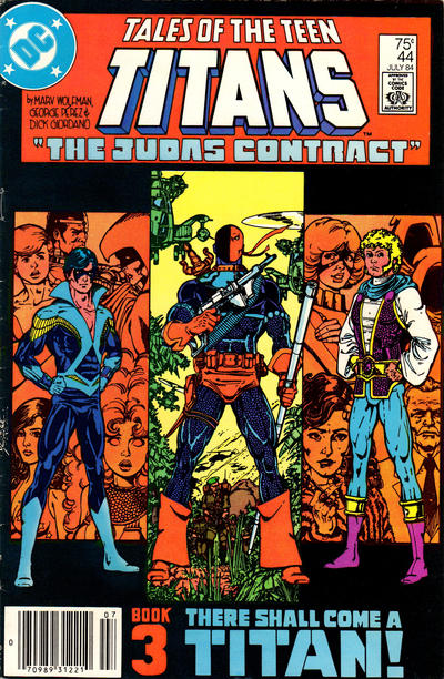 Cover for Tales of the Teen Titans (DC, 1984 series) #44 [direct-sales]