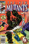 Cover Thumbnail for The New Mutants (1983 series) #33 [Newsstand]