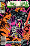 Cover Thumbnail for Micronauts (1984 series) #12 [Newsstand]