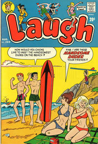 Cover Thumbnail for Laugh Comics (Archie, 1946 series) #269