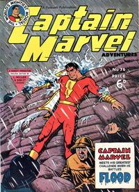 Cover Thumbnail for Captain Marvel Adventures (L. Miller & Son, 1950 series) #76