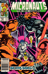 Cover Thumbnail for Micronauts (Marvel, 1984 series) #12 [Newsstand]
