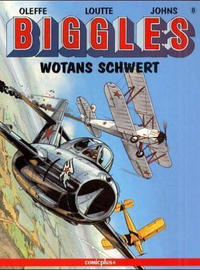 Cover Thumbnail for Biggles (comicplus+, 1992 series) #8 - Wotans Schwert