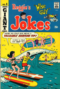 Cover Thumbnail for Reggie's Wise Guy Jokes (Archie, 1968 series) #8