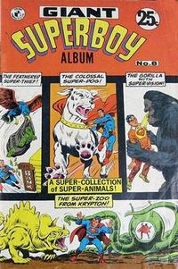Cover Thumbnail for Giant Superboy Album (K. G. Murray, 1965 series) #8