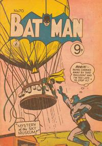 Cover Thumbnail for Batman (K. G. Murray, 1950 series) #70